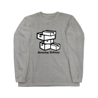 毎日デリバリー Long sleeve T-shirts