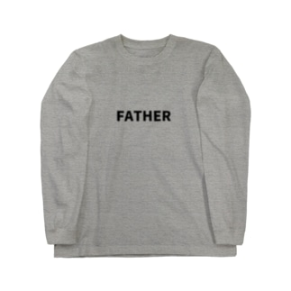 FATHER(黒文字) Long sleeve T-shirts