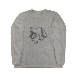 jeieici ART STOREのコーイケルホンディエアート Long sleeve T-shirts