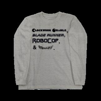 竹下キノの店のSF映画「四天王」 Long sleeve T-shirts