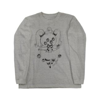 かぼちゃちゃんは興味津々A Long sleeve T-shirts