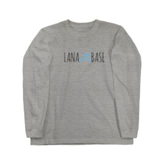 LANA BASE (ロングTシャツ) Long sleeve T-shirts