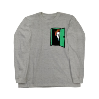 Furtive Glance/濃色ロングスリーブTシャツ Long sleeve T-shirts
