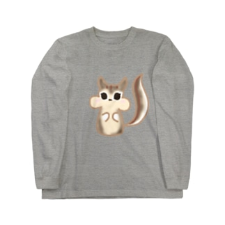 リスちゃん Long sleeve T-shirts