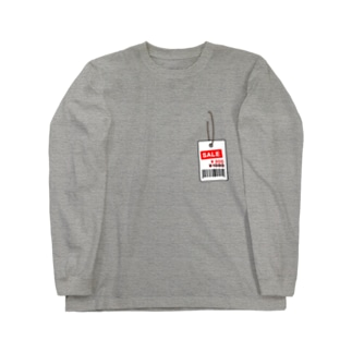値札取り忘れ ver.2 Long sleeve T-shirts
