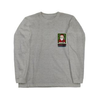 すとろべりーガムFactoryのクリスマス限定マッチ箱 (ワンポイントミニ) Long sleeve T-shirts