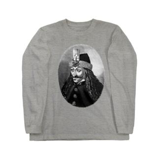Vlad Drăculea ヴラドツェペシュ公爵 Long sleeve T-shirts