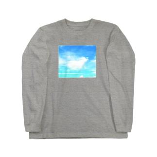 空翔ける天使 Long sleeve T-shirts