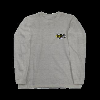 Toshiyuki Maedaのinstant culture club Long sleeve T-shirts