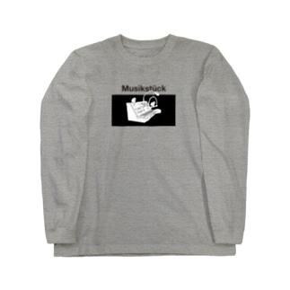 ヴォコーダー文鳥 Long sleeve T-shirts