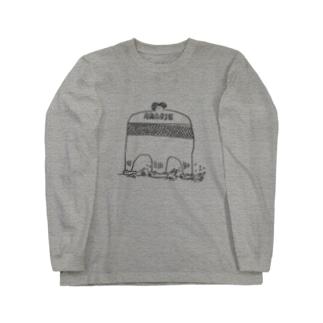 コロナさよならアマビエさん Long sleeve T-shirts