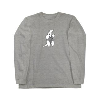 スックと立ったミナミコアリクイ ロングスリーブTシャツ sample image