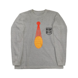 shechewsの石鹸ネット Long sleeve T-shirts