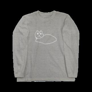 SHANのWHITE SHAN Long sleeve T-shirts