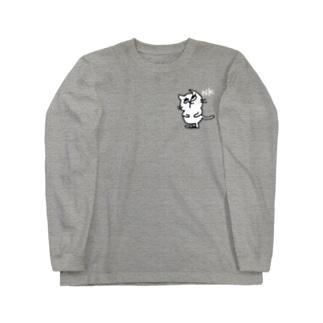 ねこ2 Long sleeve T-shirts