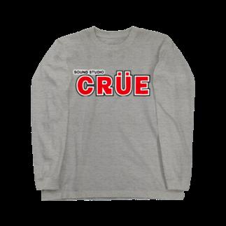 ワイルドサイドの【色変更可】スタジオCRUEロゴ、ロンT Long sleeve T-shirts