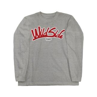 【色変更可】WildSideロゴ、ロンT Long sleeve T-shirts