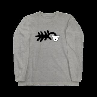 uの死シダ鉢犬 Long sleeve T-shirts