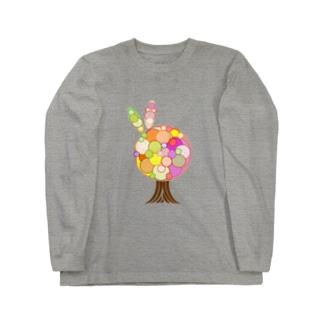 突発性tree Long sleeve T-shirts