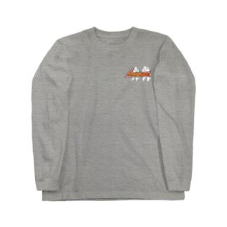 燻家看板&焚火ロゴ Long sleeve T-shirts