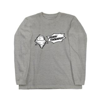 おさるトルネード Long sleeve T-shirts
