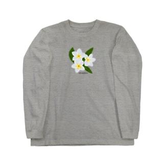 プルメリア Long Sleeve T-Shirt