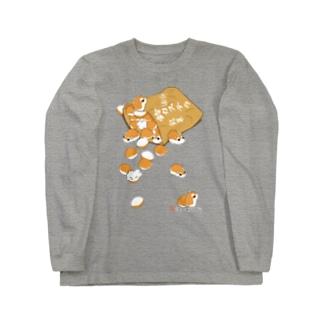 《前面プリント》鈴カステラ・ロボロフスキーハムスターTシャツ Long sleeve T-shirts