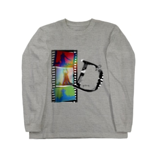 再生の舞 カラー Long sleeve T-shirts