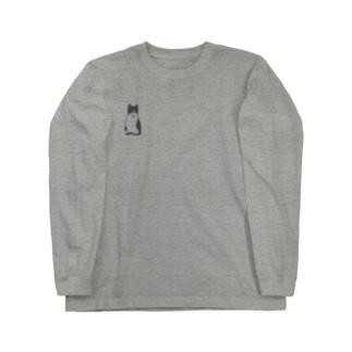 ハチワレ猫のフィガロ Long sleeve T-shirts