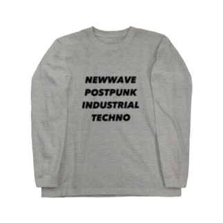 NEWWAVE POSTPUNK INDUSTRIAL TECHNO Long sleeve T-shirts