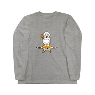 海行かば(しあわせ) Long sleeve T-shirts