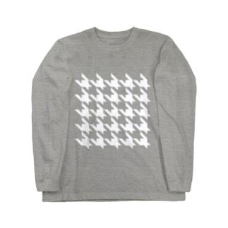 Houndtooth 4 Long sleeve T-shirts