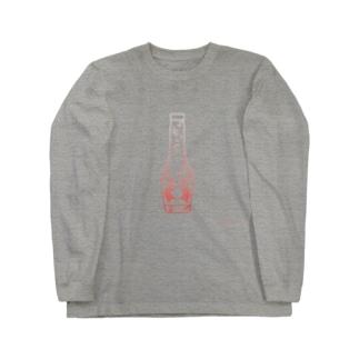 蟹サイダー Long sleeve T-shirts
