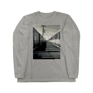 昨日の帰り Long sleeve T-shirts