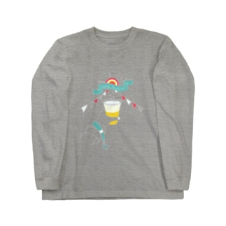 フェスビール Long sleeve T-shirts