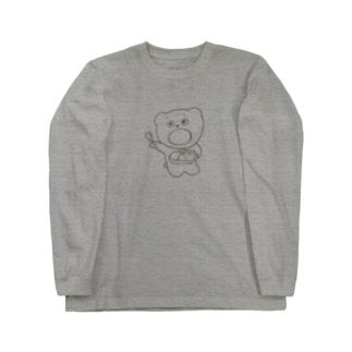 カレーくましゃん🍛 Long sleeve T-shirts