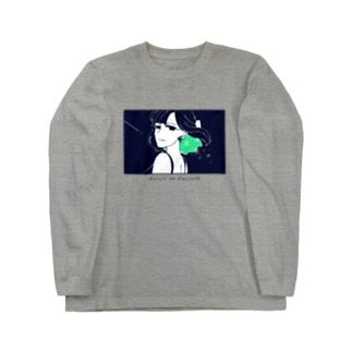 ナイショのエメラルド Long sleeve T-shirts