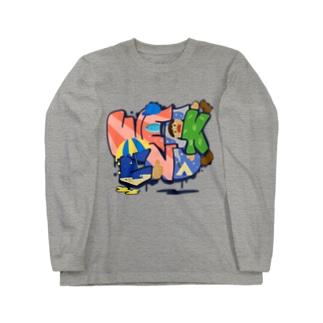 WEEK END ウィークエンド 221 Long sleeve T-shirts
