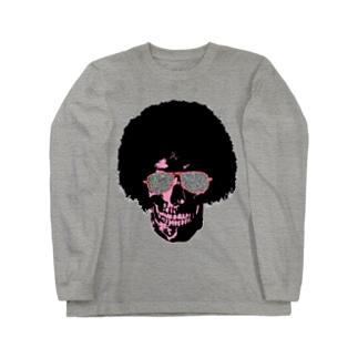 Funky Skull!!!! Long sleeve T-shirts