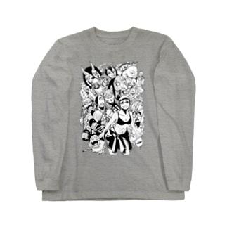 ネルと魍魎 Long sleeve T-shirts