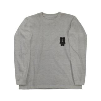 くま吉さんのグッズ Long sleeve T-shirts