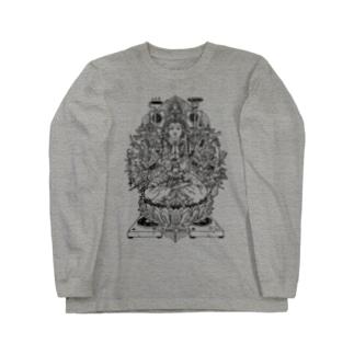+ハードコア観音Tシャツ Long sleeve T-shirts