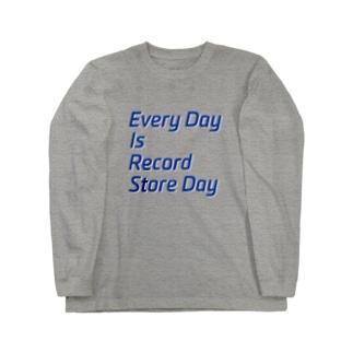毎日がレコードストアデイ 長袖Tシャツ Long sleeve T-shirts