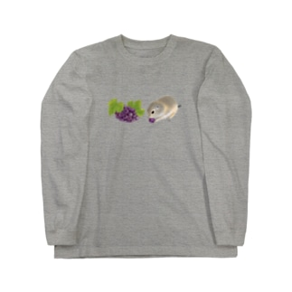 リチャードソンジリス・grape Long Sleeve T-Shirt