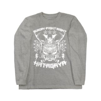 ZOX Official StoreのSUNDAY FIGHT NIGHT虎武者 Long sleeve T-shirts