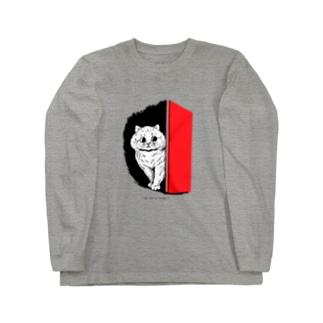 ルイス・ウェイン ねこ Long sleeve T-shirts