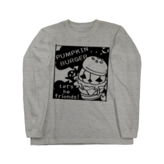 CT14 Gz かぼちゃバーガーD Long sleeve T-shirts