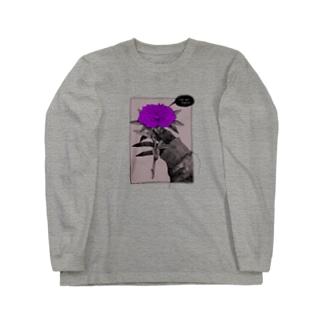 怒り Long sleeve T-shirts