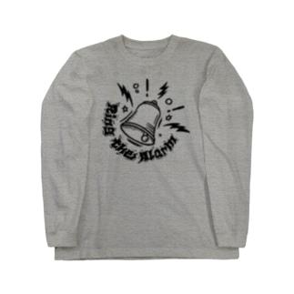 RING THE ALARM【淡色ベース】 Long sleeve T-shirts