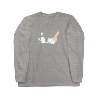 おこぼしミルクン Long sleeve T-shirts